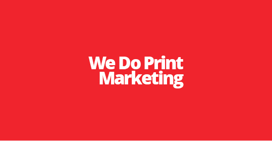 Design and print agency Calgary