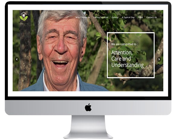 Care Home website templates Sussex